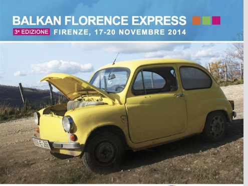 Rolling to Balkan Florence Express
